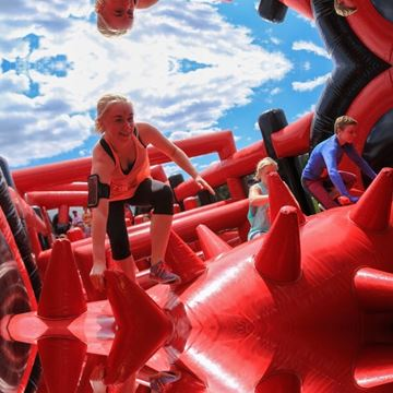 image associated with event Inflatable 5k Obstacle Course Run