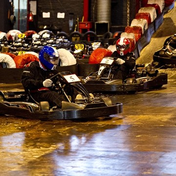 Team building at ScotKart