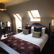 Dalziel Park Hotel bedroom with skylight