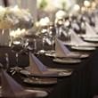 Wedding Table set-up 2