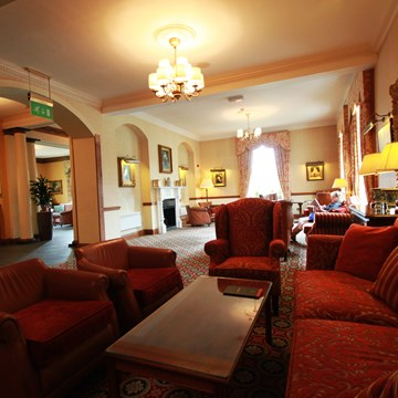 The Lounge at the Crutherland Hotel