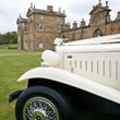 Chatelherault wedding car and building