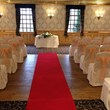 The Parkville ceremony set up red carpet