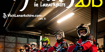 Cycling in Lanarkshire 2015