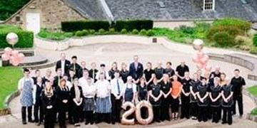 New Lanark awarded 4 stars on 20th Anniversary