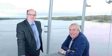 VisitScotland CEO visits Strathclyde Country Park